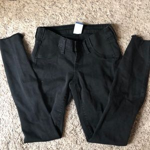 Old Navy maternity side panel jeans holes